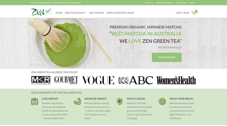 super popular 2967f 68441 Zen Green Matcha